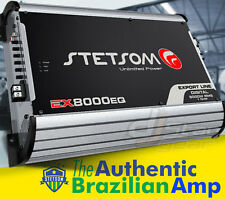 Stetsom Amplifier EX8000 EQ - 8900 Watts RMS 1 ohm Brazilian Amp 8k