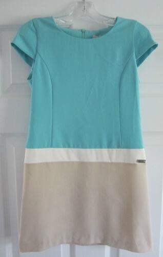 La Fée Maraboutée Robe Filles Color Block manches courtes 8 10 12 14 Neuf Avec Étiquettes 10 $
