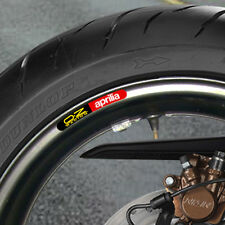 12 X APRILIA OZ RACING  WHEEL RIM STICKERS - B
