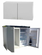 Singleküche mit kühlschrank  Mebasa MK0001 Singleküche mit Oberschrank Kühlschrank Herd | eBay