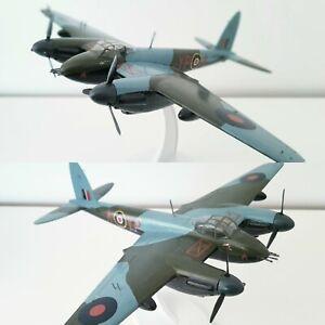 1-48-De-Havilland-DH-98-Mosquito-Royal-Air-Force-auf-Sockel-gebaut-und-lackiert