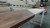 Prime Black American Walnut Solid Wood Worktop, 40mm staves, All sizes available
