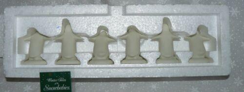 Dept 56 Snowbabies Parade of Penguins 6 Piece Figure Set #68804 NIB