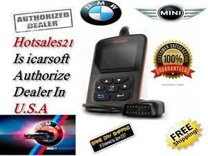 Details about BMW Diagnostic Scanner Tool Reader Code CHECK ENGINE ABS SRS  AIRBAG LIGHT RESET