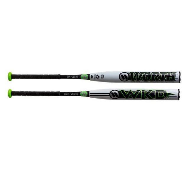 2019 Worth Wicked XL 2pc 13 5″ SSUSA Senior Softball Bat Wwkd2p 34/26