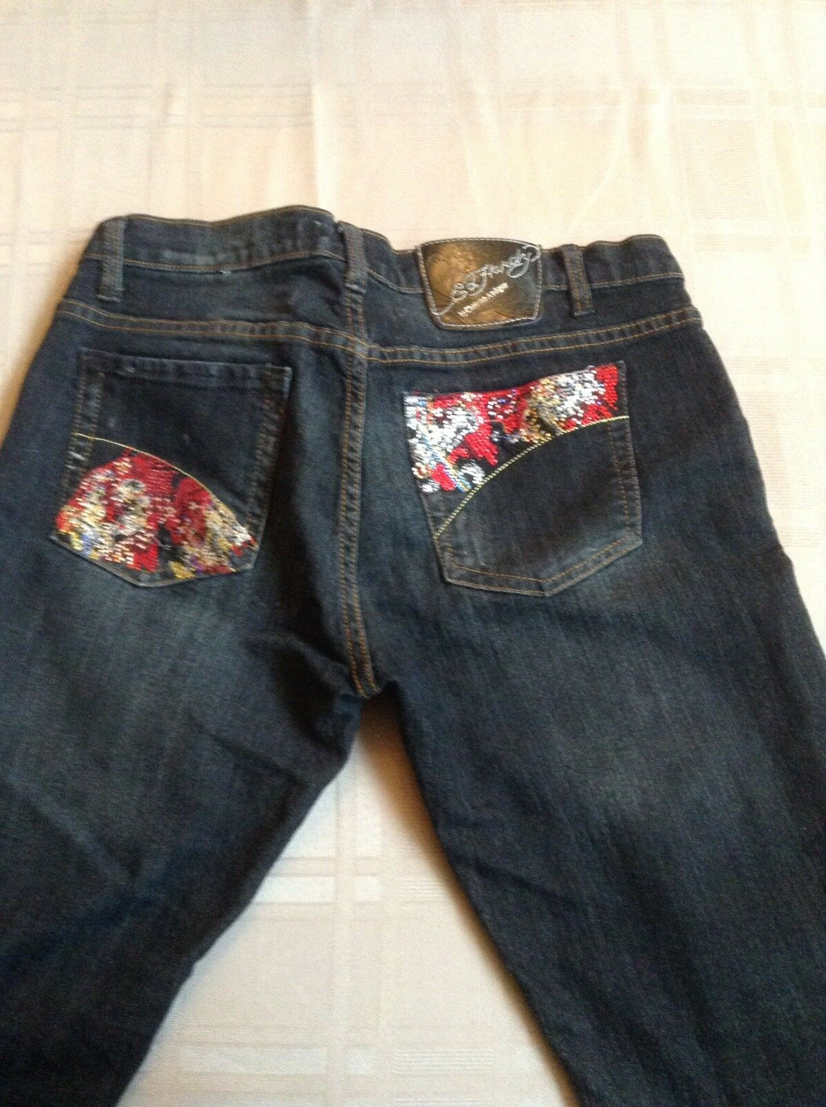 Ed Hardy Cropped Jeans 31