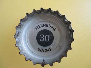 Kronkorken-von-Sternburg-gruen-Bingo-Nr-30-Bingokronkorken-gruen