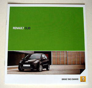 Renault  Clio  Renault Clio  April 2011 Sales Brochure - Buckinghamshire, United Kingdom - Renault  Clio  Renault Clio  April 2011 Sales Brochure - Buckinghamshire, United Kingdom
