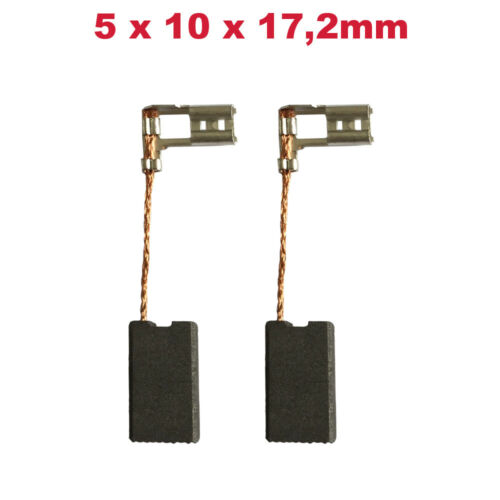 2x Schleifkohle Kohlebürste 5x10x17.2mm für Bosch GBH 4 DSC 0611222750