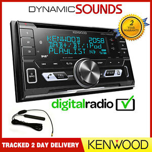 kenwood dpx7100dab doppel din auto cd stereo bluetooth usb. Black Bedroom Furniture Sets. Home Design Ideas