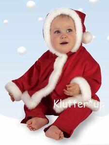 Bearington Bear Boy Girl Claus Christmas BABY SANTA COAT JACKET #198088 6-12 M