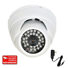 "Dome Security Camera with 1/3"" Sony Effio CCD 700TVL 28 IR LED Vandal Proof A74"