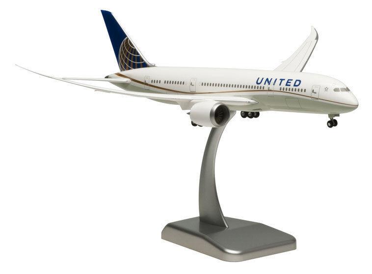 United Airlines Boeing 787-8 1 200 hogan wings modèle 4074 nouveau b787 Dreamliner