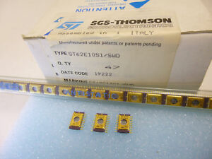 Details about 1 piece ST62E10S1 SWD 8-bit EPROM MCU + A/D-CONVERT  ST62E20  ST62T NEW ~