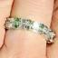 thumbnail 17 - 925 Silver Women Gemstone Birthstone Diamond Wedding Engagement Ring Wholesale