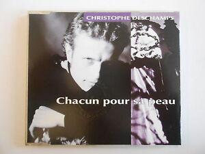 CHRISTOPHE-DESCHAMPS-CHACUN-POUR-SA-PEAU-choeurs-GOLDMAN-CABREL-CD-MAXI