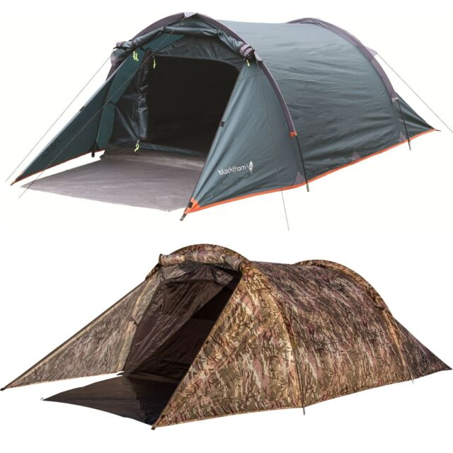 Highlander Mens Blackthorn Quick Pitch Compact 2 Man Tent