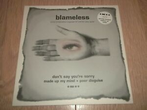 BLAMELESS-034-DON-039-T-SAY-YOU-039-RE-SORRY-034-10-034-NUMBERED-LIMITED-EDITION-W-POSTER-EX