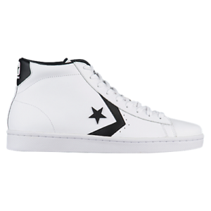655c25afc637 NIB Converse Pro Leather 76 Mid White Black White 157425C US Mens ...