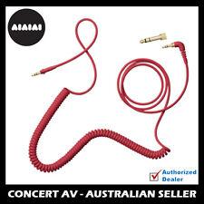 AIAIAI C10 - RED Coloured Coiled Cable for TMA Headphones, TMA-2, TMA-1,