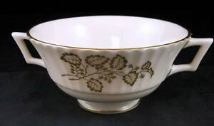 Lenox-LYRIC-Footed-Cream-Soup-Bowl-no-saucer-W300-GREAT-CONDITION