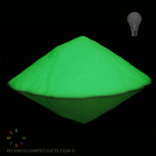 Phosphorescent luminescent pigment powder glow in the dark for fishing baits