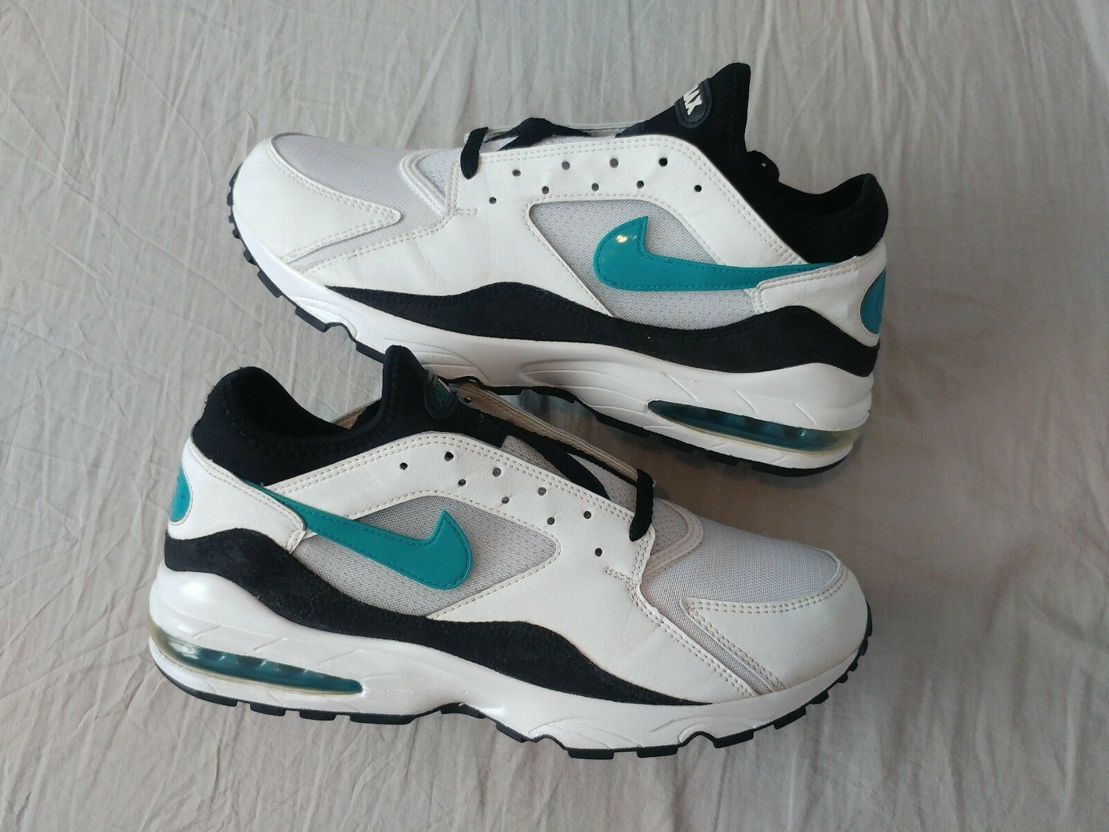 NIKE AIR MAX 93 AM93 MENTHOL 2005 HOA US12   30CM HISTORY OF AIR AM1 1 90 RARE