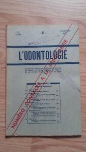 Rivista Mensile - ODONTOLOGIA - 73ème Anno - Novembre 1952,N11