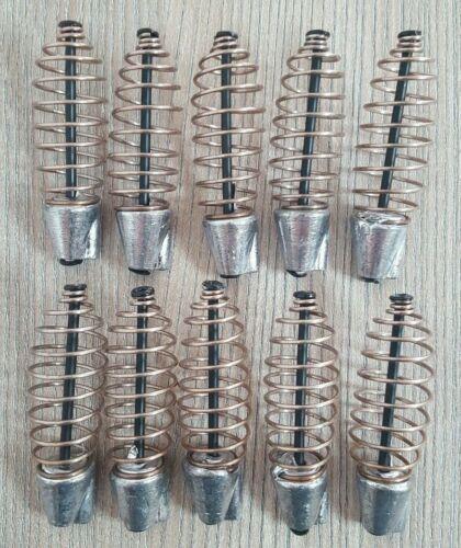 FEEDER FUTTERSPIRALE Spiralfutterkörbe Futterkörbe 10 x 30g