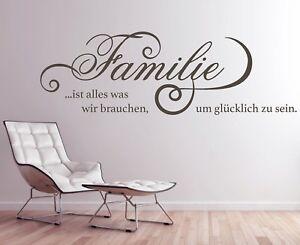 wandtattoo familie ist wandtatoo wohnzimmer familie