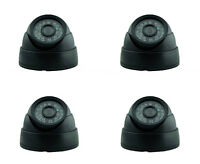 4PCS CCTV 800TVL CMOS Security Camera Indoor Dome 24 IR LED Day Night Vision P2P