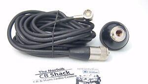 Straight-3-8-DV-Base-Power-Stick-Mount-Kit-For-CB-aerial-or-Ham-Antenna-4m-RG58