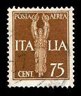 ITALIA REGNO 1930 1932 POSTA AEREA Singoli e quartine integre MNH** ed Annullati