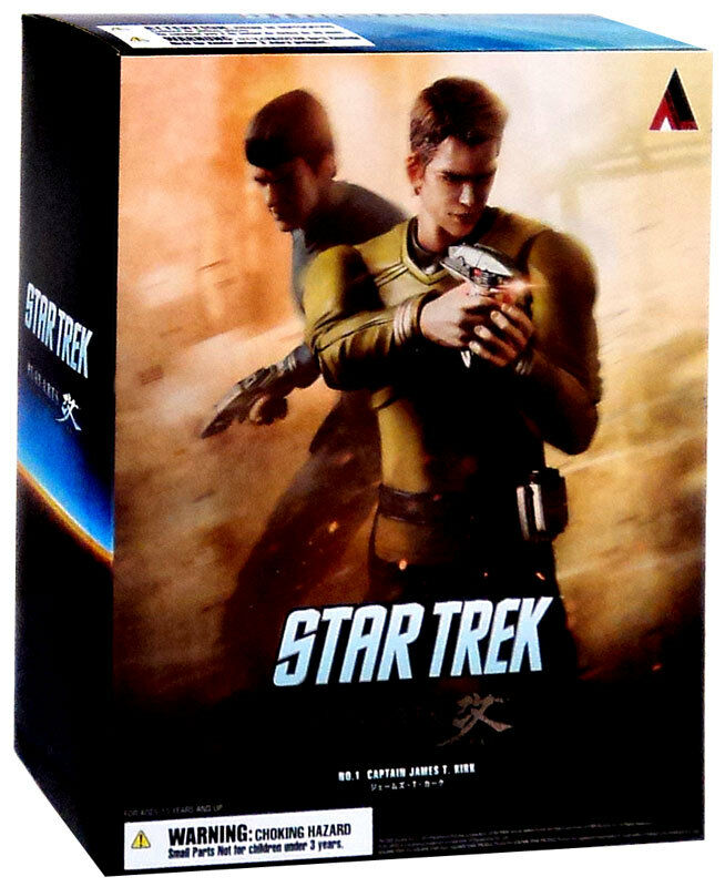 STAR TREK - Captain James T. Kirk 10    Play Arts Kai Action Figure  NEW 562d71