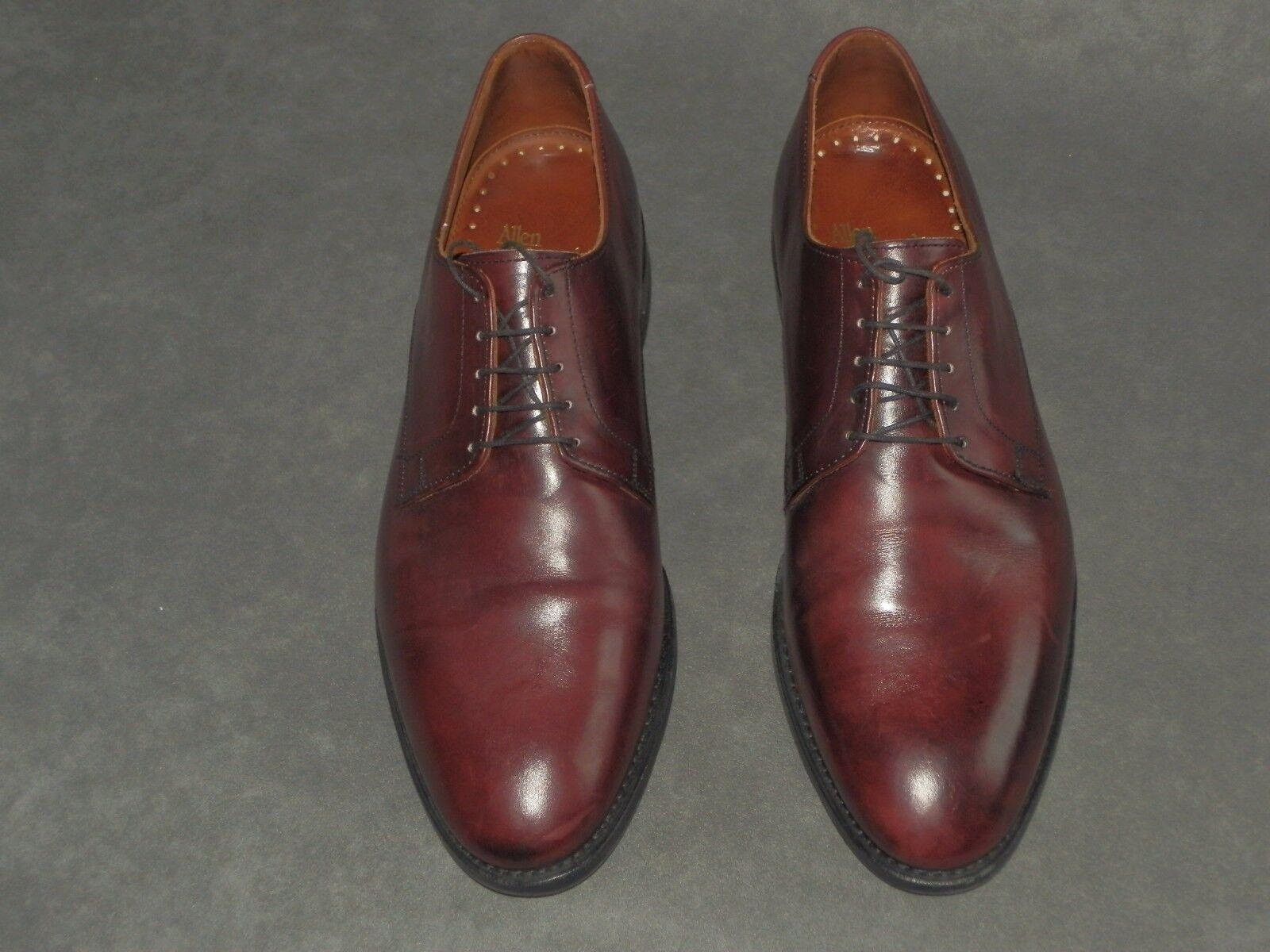 Allen Edmonds  Sutter  burgundy  made in USA  US 10,5  44,5  kaum getragen
