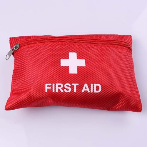 FIRST AID KIT Emergency Medical Bag Home Hiking Travel  Treatment Set Camping