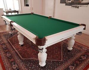 Détails sur Billard pool billard table de billard vikont 9 FT bois massif  ardoise 25mm- afficher le titre d\'origine