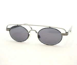 NEOSTYLE-HOLIDAY-941-sunglasses-vintage-black-gray-small-unusual-oval-party