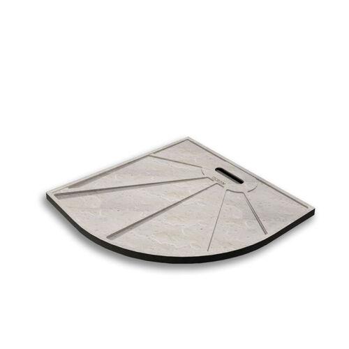 Square//Quadrant Slate Effect Stone Shower Tray Luxury Drain Trap/&Free Waste