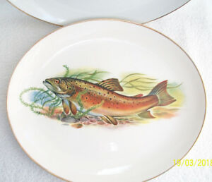Fish Design Oval Platters Serving DishPAIR Set A Salmon - Newark, Nottinghamshire, United Kingdom - Fish Design Oval Platters Serving DishPAIR Set A Salmon - Newark, Nottinghamshire, United Kingdom