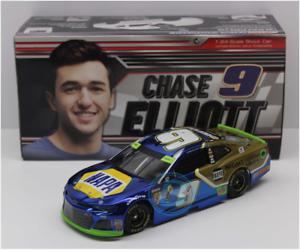 NASCAR 2018 CHASE ELLIOTT #9 NAPA NIGHT VISION LAMPS COLOR CHROME 1//24 CAR