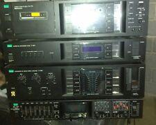 Sansui cassette  synthesizer tuner amplifier equalizer lot a t-909 d-77f rg-707