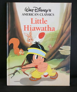 Walt-Disneys-American-Classics-Little-Hiawatha-Large-Twin-Books-1990
