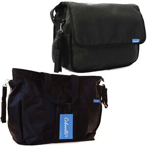 Caboodle-Baby-Changing-Bag-Black-Shoulder-Nappy-Yummy-Mummy-Hospital-Maternity
