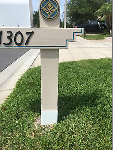 Mailbox Post Protector Guard Weed Eater Trimmer 6x6 Ebay