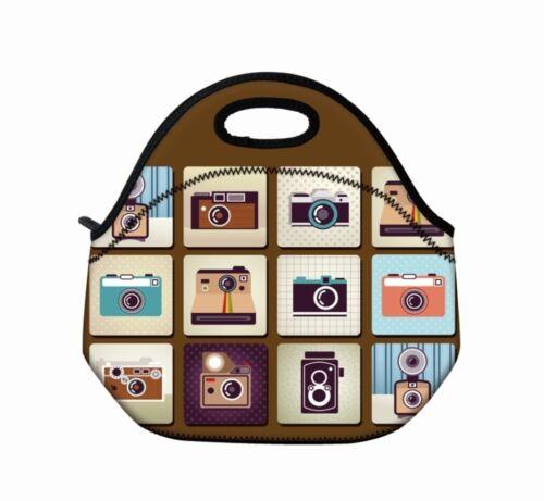 New Kids Insulated Lunch Tote Bag Cooler Box Neoprene Lunchbox Baby Bag Handbag