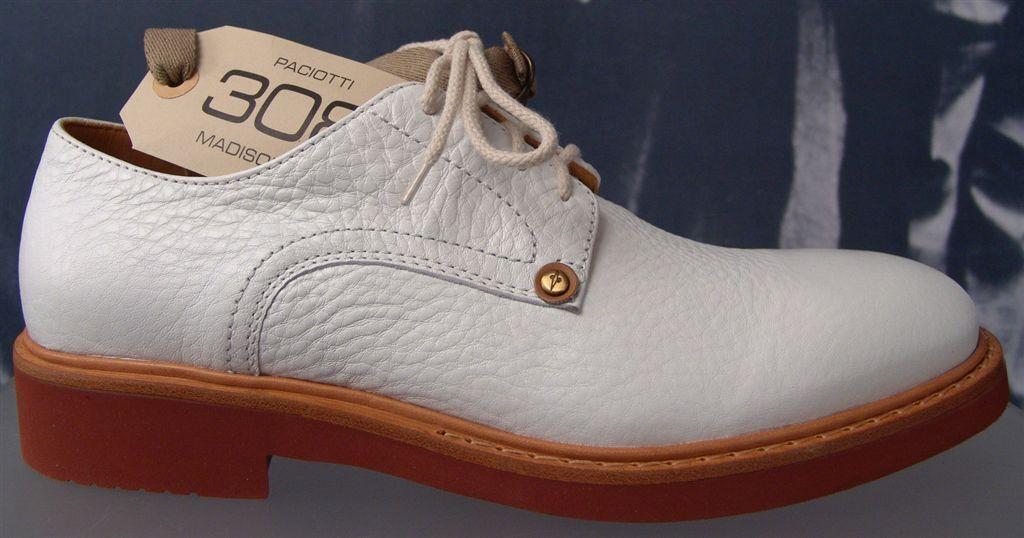 CESARE PACIOTTI 308 cuir US 11 Laced pour homme derbies italien Designer chaussures