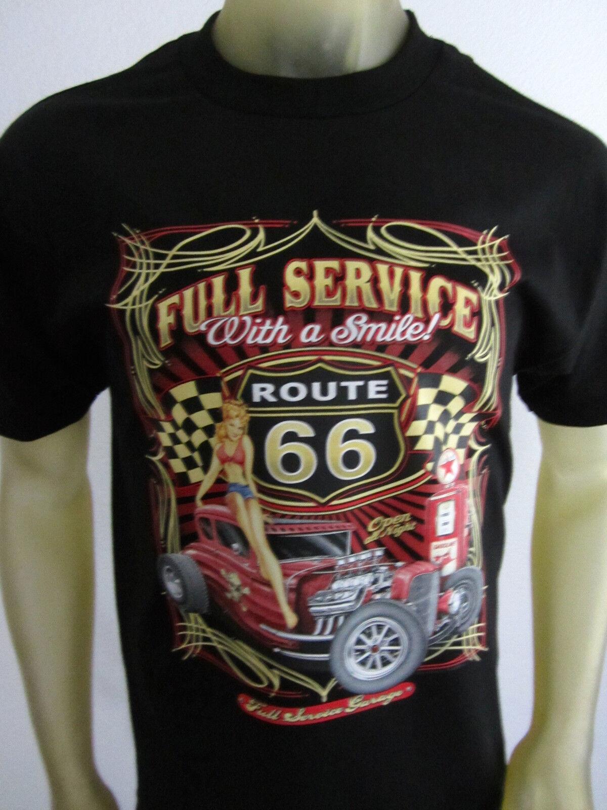 f2536b2e Old Skool Gearhead Pinup Garage Route 66 Tee Shirt Men'S Black Choose Your  Size Gift Print T Shirt,Hip Hop Tee Shirt,NEW ARRIVAL Tees Tshirts Printed  ...