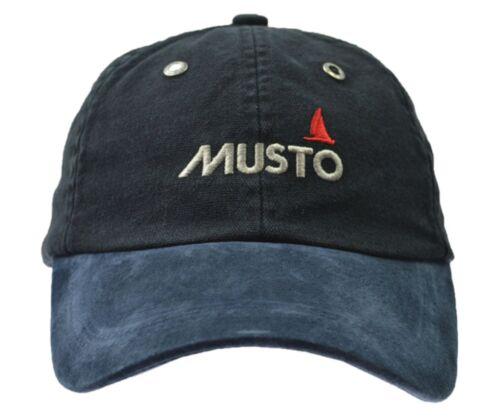 Musto segelcap Cappy Cap Basecap Casquette Visiere Baseballcap de chapeau