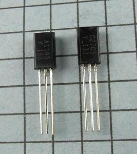 2SA1145-Y-amp-2SC2705-Y-A1145-C2705-5pcs-each-per-Lot